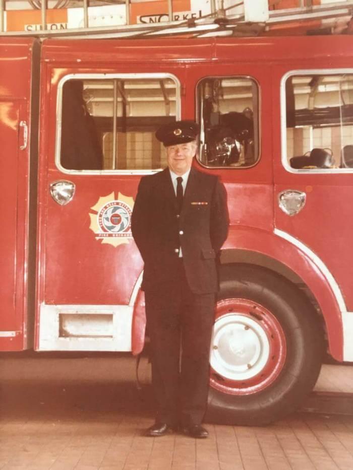 Дайвер для пожарных от William Wood Watches