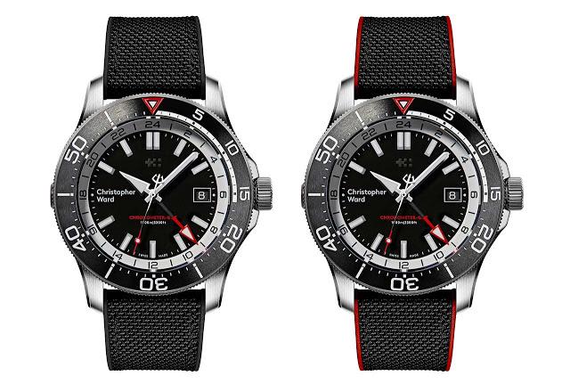 Christopher Ward C65 GMT Worldtimer и C60 Elite GMT 1000