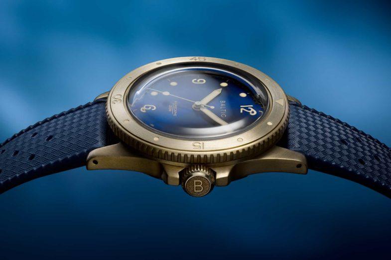 Бронзово-винтажный минимализм от Baltic Watches