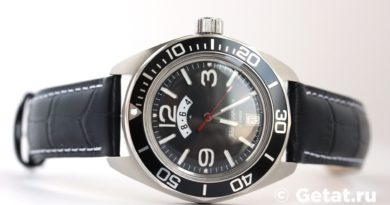 Обзор часов Командирские К-03