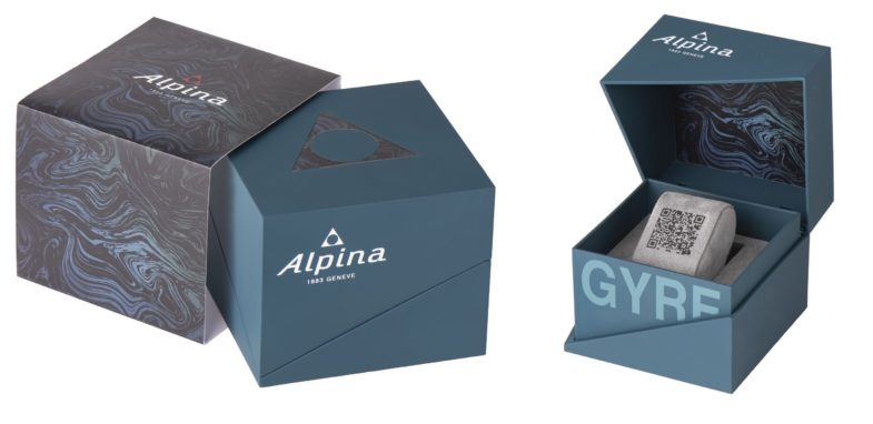 Дайверская лимитка Alpina Seastrong Diver Gyre из переработанного пластика