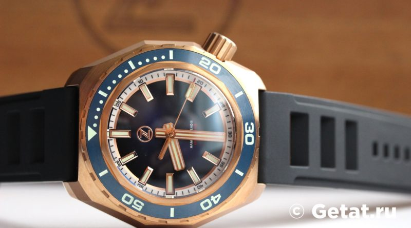 Zelos Hammerhead 2 1000М Bronze Midnight Blue Seiko NH35