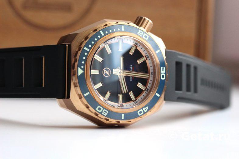 Zelos Hammerhead 2 1000М Bronze Midnight Blue Seiko NH35