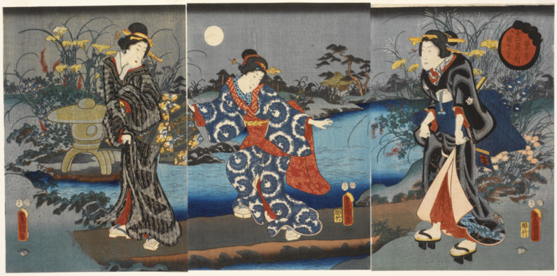 Луна отражённая, лик из фарфора, Seiko Presage