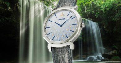 Блеск драгоценный брызг водопада, застывших в фарфоре Credor