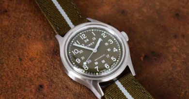 «Полевая» новинка Timex на механическом калибре
