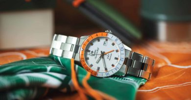 Zodiac Super Sea Wolf GMT Sherbet – яркий вкус лета