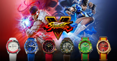 Seiko VS Street Fighter