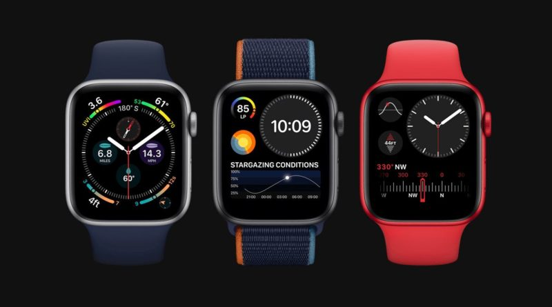Представлены Apple Watch Series 6 и Apple Watch SE