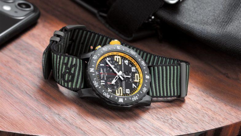 Серия спортивных хронографов с высокоточным калибром Breitling Endurance Pro