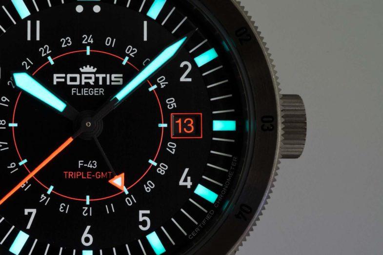 Третий пилот новейшей серии Fortis с Triple-GMT