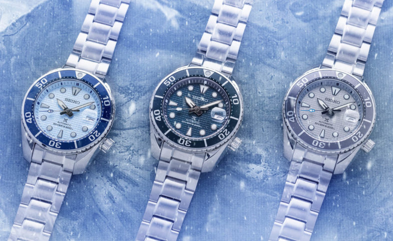 «Ледяная» коллекция Seiko Prospex