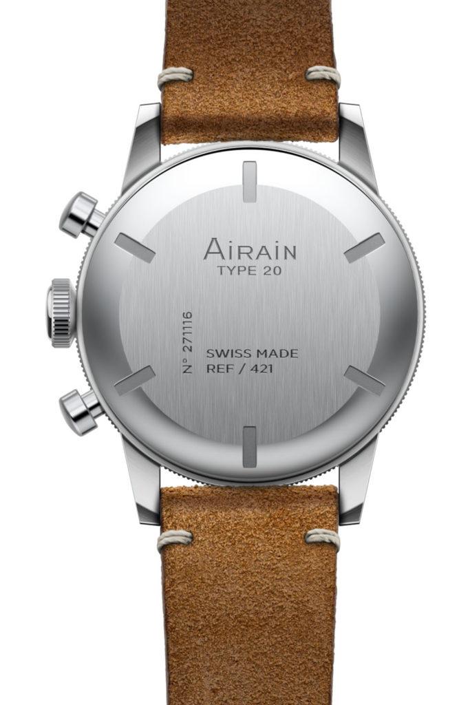 Хронограф французских ВВС Type 20 от возрождённого бренда Airain
