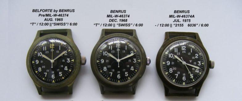 История Benrus и переиздание культового военного дайвера MIL-W-50717