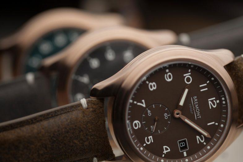 Бронзовая модель от Bremont по мотивам часов Второй мировой