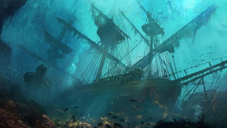 Spinnaker Wreck – жертва кораблекрушения
