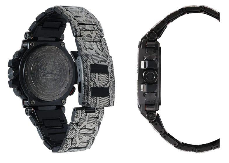 Премиальный G-Shock в «коже питона»