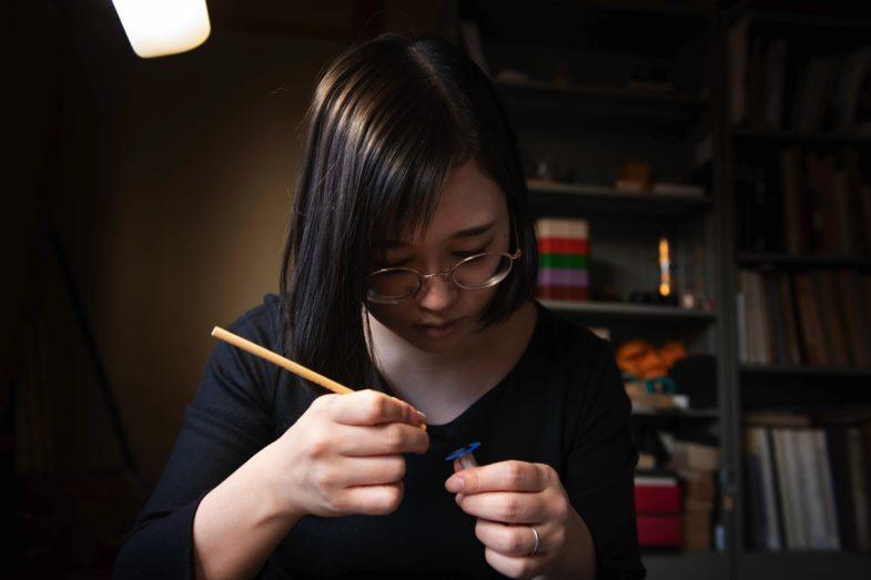 Японские традиции и современные технологии, воплощённые в Minase Divido Deep Blue Urushi Silver Maki-e