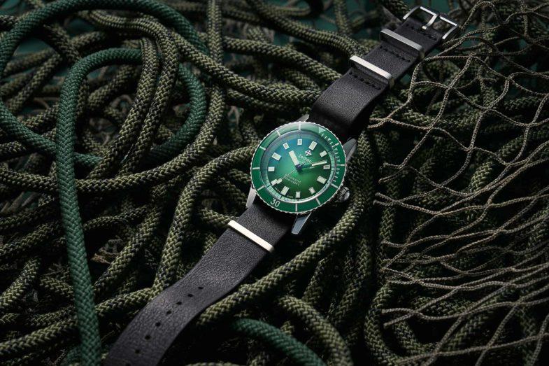 Зелёная лимитка Zodiac Super Sea Wolf 53 Compression