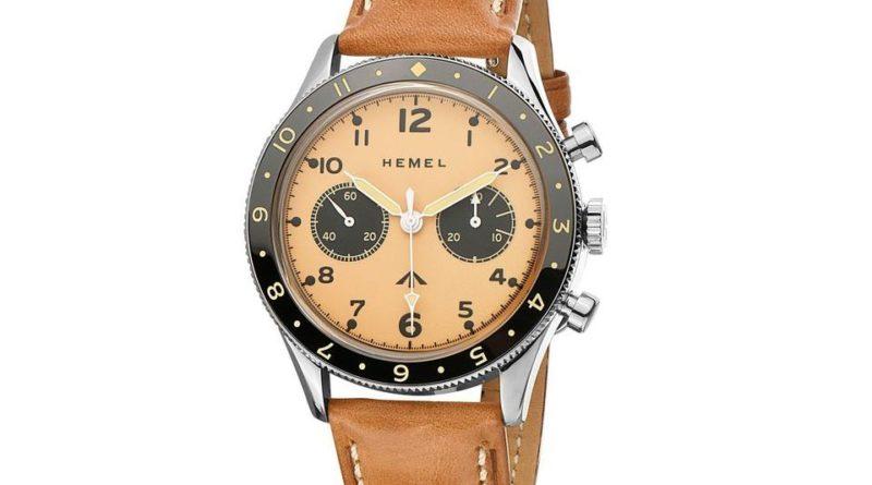 Три хронографа Hemel Airfoil, вдохновлённых часами британских пилотов