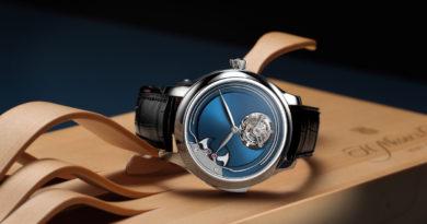 Турбийон и репетир в титановом корпусе – новая модель от H. Moser & Cie
