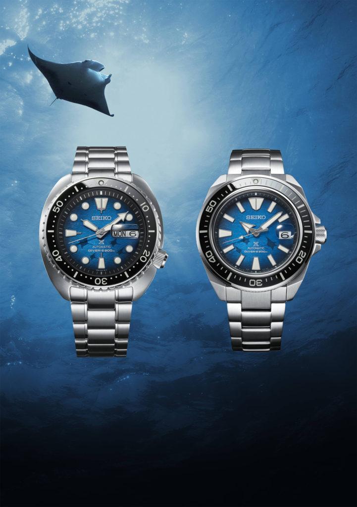 «Королевская серия» Seiko Save the Ocean