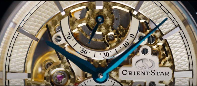 Юбилейный скелетон от Orient