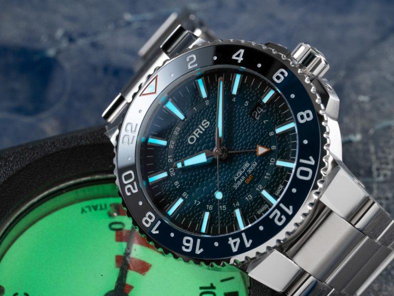 Oris Whale Shark Limited Edition Aquis GMT – ограниченная серия в защиту китовой акулы