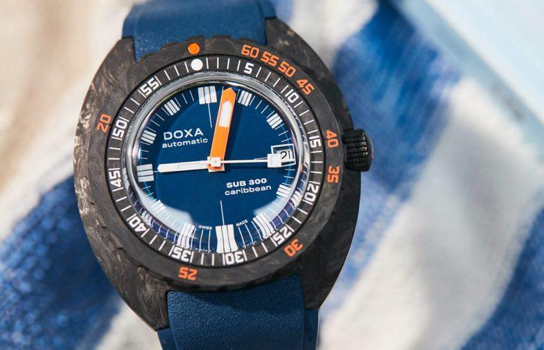 Doxa SUB 300 Carbon COSC – яркие цвета облачённые в карбон