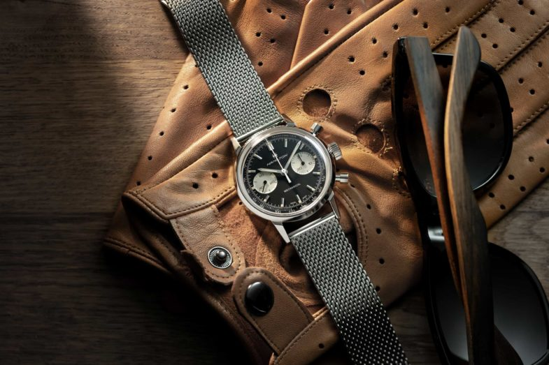 Ретро-хронограф с ручным заводом Hamilton Intra-Matic Chronograph H