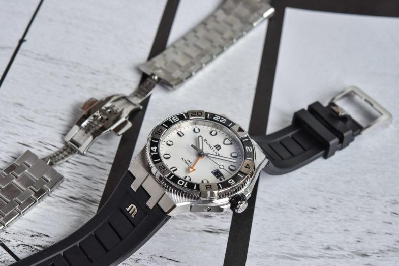 Maurice Lacroix Aikon Venturer GMT – дайвер с популярным интегрированным браслетом