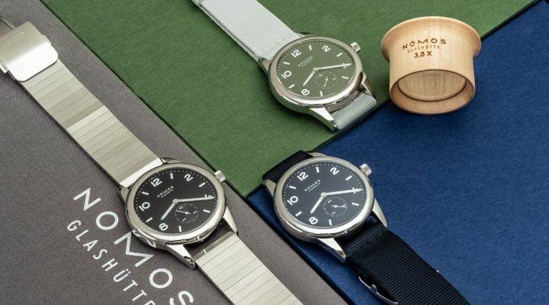 Ограниченная серия Nomos Glashütte Club Automatic в честь юбилея Гласхютте