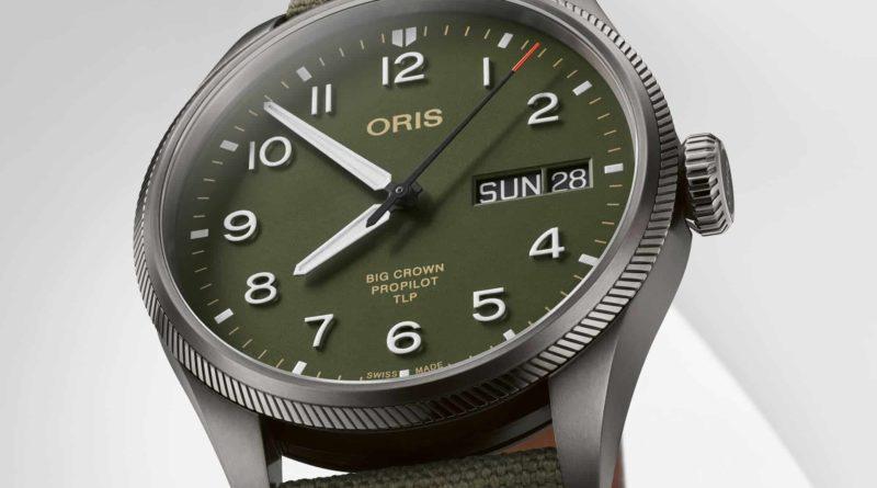 Oris TLP Limited Edition – военный пилот