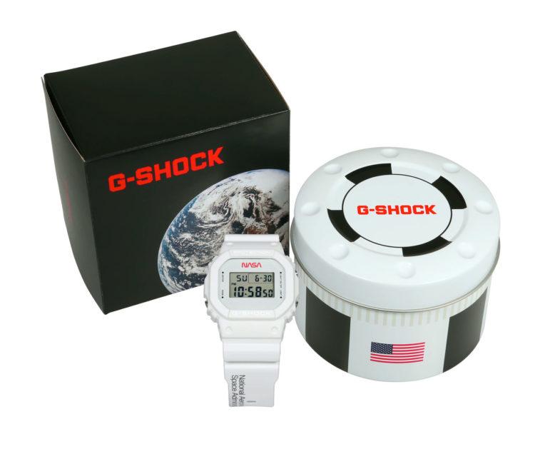 Casio G-Shock ограниченное издание в честь первого полёта шаттла Колумбия