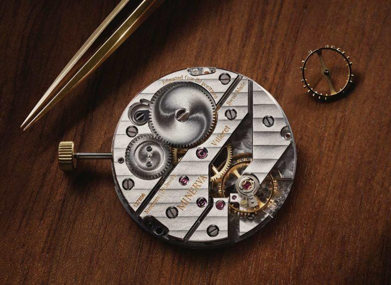 Montblanc Heritage Pythagore – механизм золотого сечения