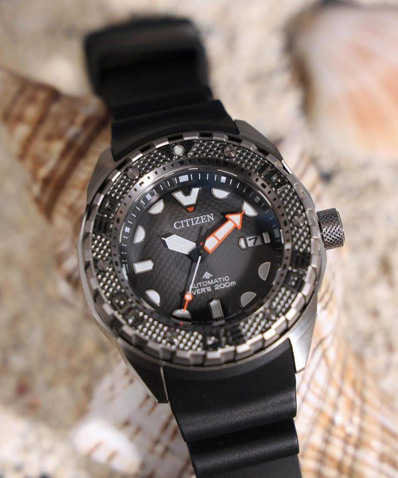 Citizen Promaster Mechanical Diver 200m – титановый дайвер с антимагнитным калибром