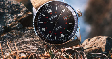 Delma Cayman Field – полевые часы в дайверской оболочке