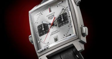 TAG Heuer Monaco Titan Special Edition – культовая модель в титане