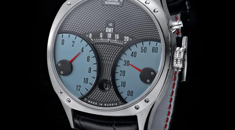 Racer Jumping Hour GMT – первые наручные часы российского мастера Антона Суханова