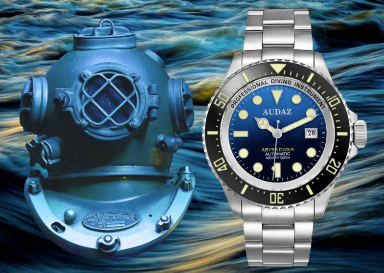 Audaz Abyss Diver 1000 M – глубоководный хомаж