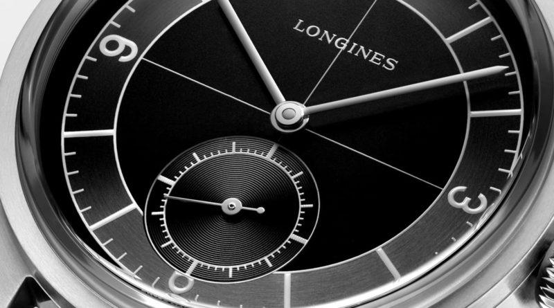 Longines Heritage Classic с черным секторным циферблатом