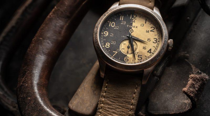 Timex x MadeWorn состаренная новинка