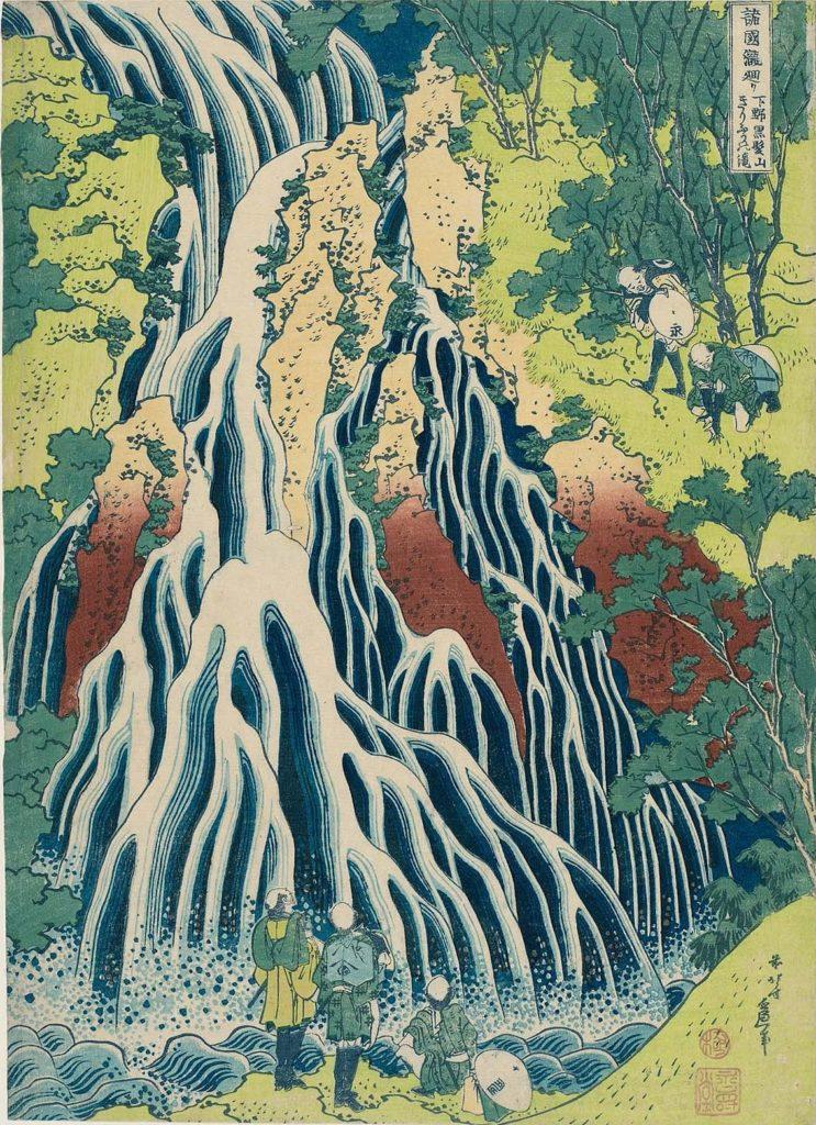 Jaeger-LeCoultre Reverso Tribute Enamel Hokusai «Kirifuri Waterfall» - швейцарский шедевр, посвящённый японскому