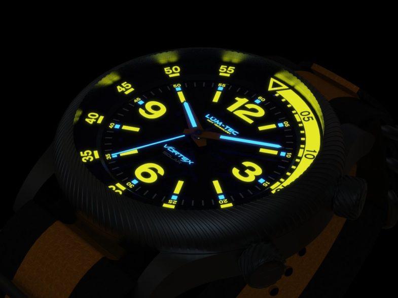 «Солнечный» дайвер в винтажной пилотской стилистике LÜM-TEC Vortex