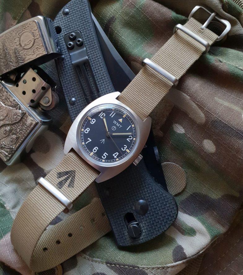 """WMT Milspec W20 """"British Armed Forces"""" – непрямой потомок военных W10 часов"""