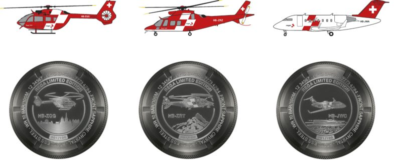 Серия Oris Big Crown ProPilot Rega Fleet, посвященная авиапарку швейцарской спасательной службы