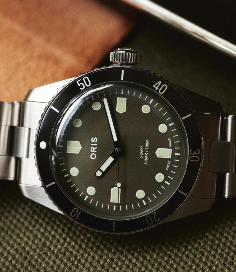 Oris x Hodinkee Divers Sixty-Five. Винтажный дайвер с современным, высокотехнологичным калибром