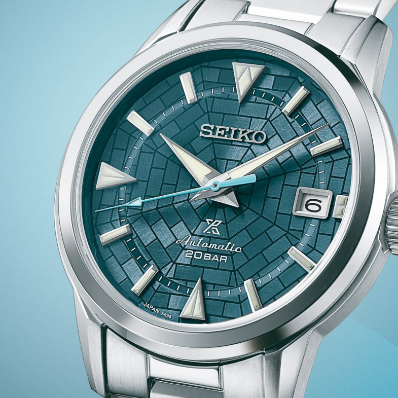 Коллекция Seiko 140th Anniversary Limited Editions - Alpinist SPB259 и Presage SSA445, вдохновленная Гиндзой