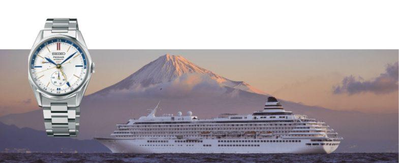 Круизная серия Seiko Presage Ocean Traveller