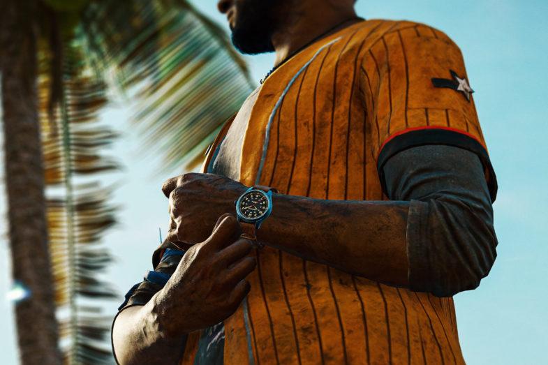 Hamilton Khaki Field Titanium Far Cry 6 Limited Edition – в игре и реальности